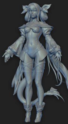 ZBrushがモデリングのディファクトスタンダードツールになりつつある昨今。今回は、3DキャラクターアーティストChris…