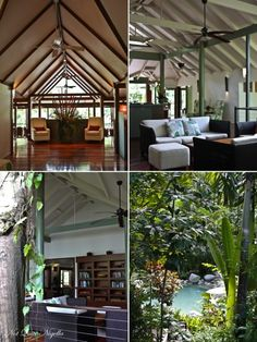 Silky Oaks Lodge, Daintree Rainforest. I've always wanted to go here. Hopefully, one day.