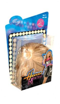 Hannah Montana wig! I had one of these!