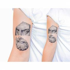 Tatuaje de estilo realista/gráfico. Artista tatuador: Kaiyu Huang