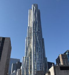 New York by Gehry residential tower in New York City. A recent deal puts its value at a staggering, record-breaking $1,000,000,000. Yep, with nine zeroes. (Photo: Darcy Strobel)
