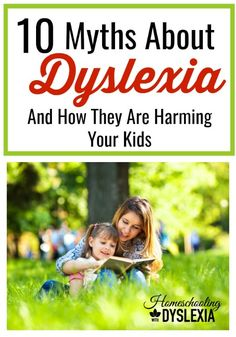There are a lot of myths and misunderstandings about dyslexia. Not understanding what dyslexia really was and not being able to differentiate between what was myth and what was fact caused me a lot of worry. Myths about dyslexia are harming our kids. Parenting Classes, Parenting Books, Parenting Advice, Teaching Reading, Teaching Kids, Learning, Struggling Readers, Special Needs Kids, Adhd