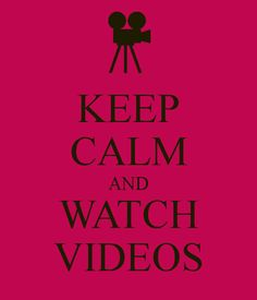 i just want to watch music videos all day long. That isn't much to ask in life.