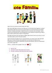 familie deutsch materialien german language learn german und german resources. Black Bedroom Furniture Sets. Home Design Ideas