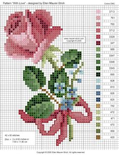 Brilliant Cross Stitch Embroidery Tips Ideas. Mesmerizing Cross Stitch Embroidery Tips Ideas. Embroidery Patterns Free, Cross Stitch Embroidery, Cross Stitch Patterns, Crochet Patterns, Cross Stitch Heart, Cross Stitch Flowers, Small Wedding Bouquets, Heart Patterns, Love Design
