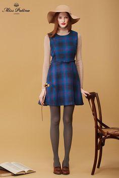Dundee Dress Miss Patina