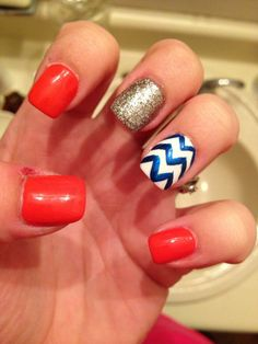 Detroit Tigers nails #SparkleLife