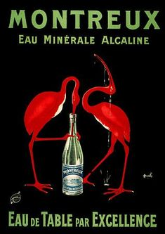 Food,Drinks and Wine - 112738830621991211381 - Picasa Web Albums Vintage French Posters, Vintage Advertising Posters, Vintage Advertisements, Vintage Prints, Retro Poster, Poster Ads, Poster Prints, Agua Mineral, Mineral Water