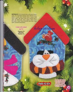 revista muñecos navideños gratis - Blog de Santa clauss Christmas Stockings, Holiday Decor, Ideas, Christmas Ornaments, Tela, Fun Crafts, Patchwork Navidad, House For Cats, Needlepoint Christmas Stockings