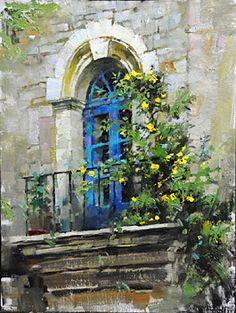 John Michael Carter, John Carter, plein air oil painting,-Ralph ...
