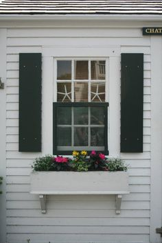 Starfish and window box, Chatham, MA  #starfish, #window box,