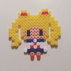 Sailor Moon perler beads by  crimson.crow
