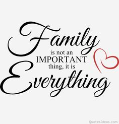 My family is my life and love! I will always protect and cherish the loves of my life