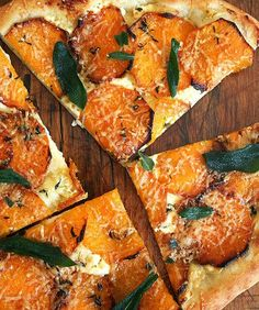 Butternut Squash and Crispy Sage Pizza Recipe!