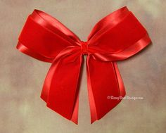 """Dressy Giant Velvet Over Satin Long Tails RoseyBow® Hair Bow - 7""""-  Holidays, Weddings, Special Occasion Hair Bow for Women and Girls"""