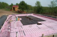 Insulated monolithic-slab foundation | Construction ...
