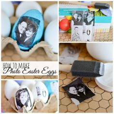 Photo Easter Eggs at MichaelsMakers u-createcrafts.com
