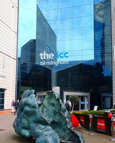The ICC building, canal side near Broad Street Modern Sculpture, Abstract Sculpture, Our Town, Architectural Features, Birmingham, Times Square, Like4like, Career Consultant, Architecture