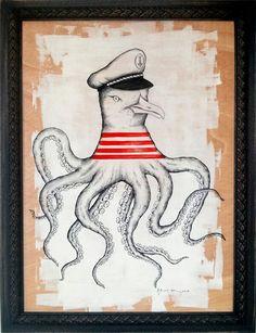 """""""Seagoctopus"""" - Daniela Garreton"""