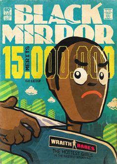 """O designer Butcher Billy, reimaginou os treze episódios de Black Mirror como se fossem revistas em quadrinhos dos anos 70. <a class=""""g1-link g1-link-more"""" href=""""https://www.designerd.com.br/episodios-de-black-mirror-reimaginados-como-revistas-em-quadrinhos-dos-anos-70/"""">More</a>"""