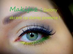 Cześć! Kolejny makijaż, tym razem stawiamy na kolor, na dolnej powiece. Makijaż prosty i szybki w wykonaniu. Kosmetyki użyte do makijażu: Podkład - Rimmel Wa...