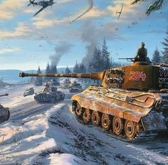 German Soldiers Ww2, German Army, Military Art, Military History, Tank Wallpaper, Ddr Museum, Military Drawings, Tiger Ii, War Thunder