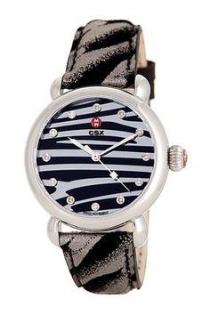 Women's CXS Diamond Zebra Watch