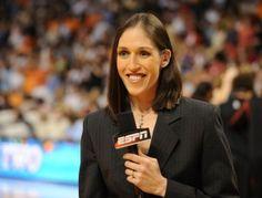 ESPN Reporter Rebecca Lobo Talks Motherhood, Reporting, Basketball and Balancing It All