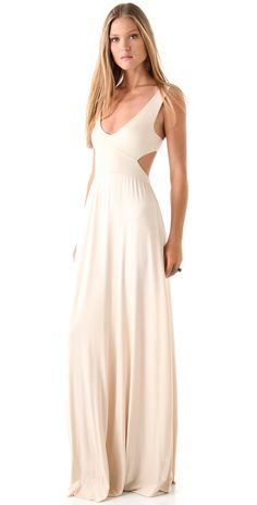 Shopbop Beige Maxi Dress