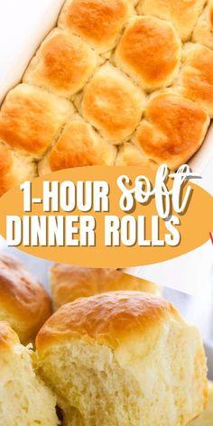 Donut Recipes, Bread Recipes, Homemade Rolls, Homemade Breads, Fluffy Dinner Rolls, Cheese Buns, Indian Street Food, Stand Mixer, Rolls Recipe