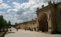 Albergue de peregrinos del monasterio de San Juan de Ortega, #Burgos #CaminodeSantiago