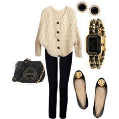 LOLO Moda: Black & Gold