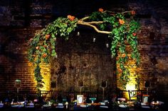 hermosa ambientacion de boda