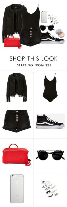 """""""Untitled #663"""" by kaitlyncostanzo ❤ liked on Polyvore featuring ThePerfext, Topshop, River Island, Vans, Givenchy, Native Union and Bobbi Brown Cosmetics"""