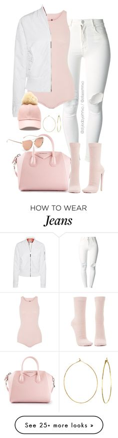 """""""Yeezy D.I.Y"""" by efiaeemnxo on Polyvore featuring (+) PEOPLE, Givenchy, Rick Owens, Schott NYC, Charlotte Russe, Phyllis + Rosie, DIY, sbemnxo and styledbyemnxo"""