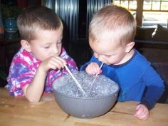 Inside Activities for Preschoolers- Quick!  A big list of ideas you can take out at a moments notice.