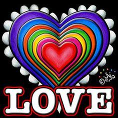 Cheerful heart/love