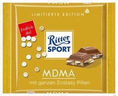 Ritter Sport - MDMA Fundstück