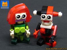 https://flic.kr/p/28jrqdT | LEGO TINY POISON HARLEY | Poison I vay and Harley Quinn tiny brick figures. Read more details here: www.flickr.com/photos/8107354@N03/42803436272/in/datepost...  www.baronsat.net