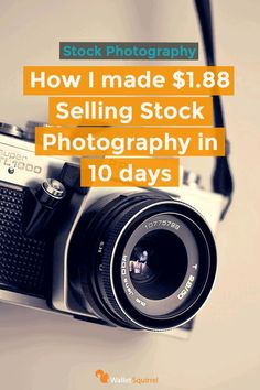 Here is how you can start making money in 10 days by selling stock photography. Andrew walks you through a step by step guide to start earning more money each month as a new Shutterstock Contributor. Earn More Money, Make Money Online, How To Make Money, Selling Stock, Selling Photos, Photography Lessons, Photography Ideas, Photography Basics, Photo Online