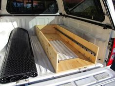 Truck Camper Shells, Camper Kitchen, Truck Camping, Bed Storage, Beds, Ford, Times, Bedding, Bed