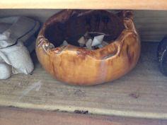 Original pottery by Chuck Fink. Sebring, Florida
