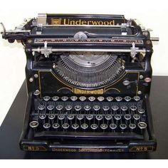 This is amazing.  I would love to own a typewriter like this!