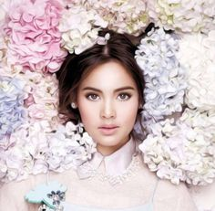 Beautiful Celebrities, Beautiful Actresses, Mark Prin, Thai Fashion, Holy Chic, Beauty Portrait, Beauty Shots, Bride Makeup, Young Fashion