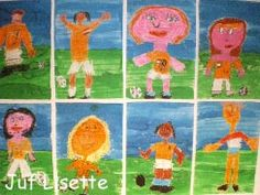 Teken jezelf als Nederlands Elftalspeler Soccer Theme, School Sports, World Cup 2014, Pre School, Preschool Activities, Kids Rugs, Sports, Blue Prints, Football Soccer