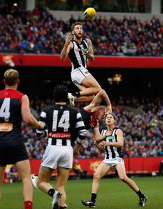 AFL 2017 Round 12 - Melbourne v Collingwood Collingwood Football Club, Australian Football League, Stl Cardinals, Different Sports, World Of Sports, Sports Photos, Football Cards, Sport Man, Rugby