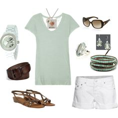 casual, created by thesterlingcharm on Polyvore