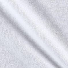 Cotton Interlock Knit White from @fabricdotcom  This versatile, staple knit fabric features a soft hand and a 30% stretch across the grain. It is perfect for creating knit dresses, skirts, heavier tops, children and baby apparel and more.