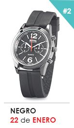 Reloj Negro Chronograph, Smart Watch, Accessories, Black Watches, Smartwatch, Ornament