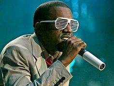 The Scoop on Kanye West's Funky Sunglasses | People.com